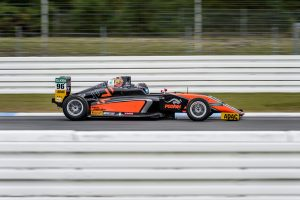 Joey Mawson on his way to victory in the 2016 ADAC German Formula 4 Championship