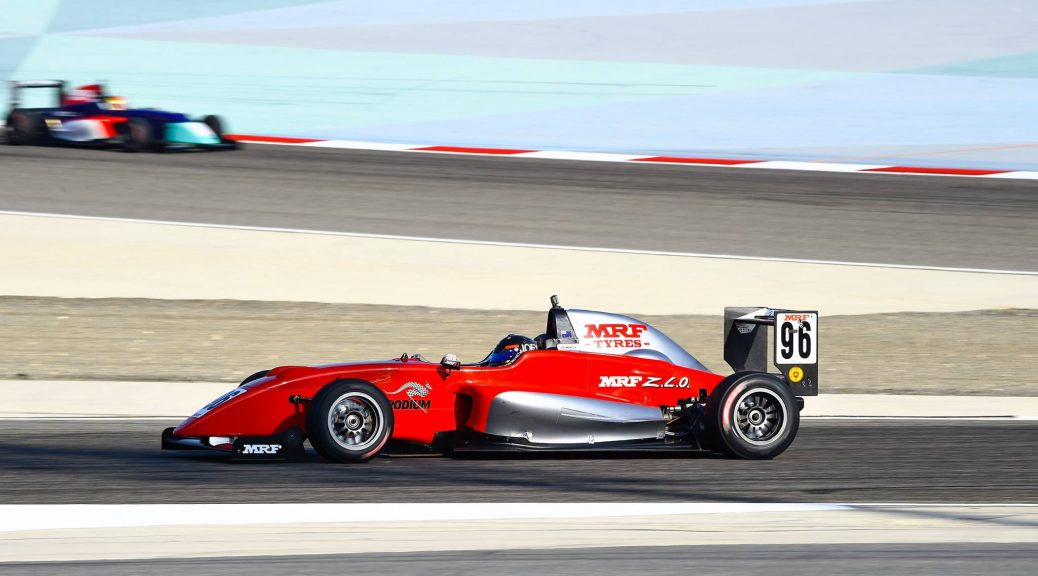 Joey Mawson in action in Bahrain