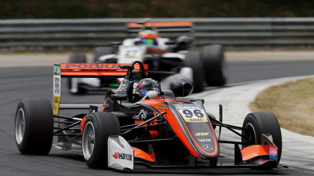 96 Joey Mawson (AUS, Van Amersfoort Racing, Dallara F317 - Mercedes-Benz), FIA Formula 3 European Championship, round 4, race 2, Hungaroring (HUN), 16. - 18. June 2017