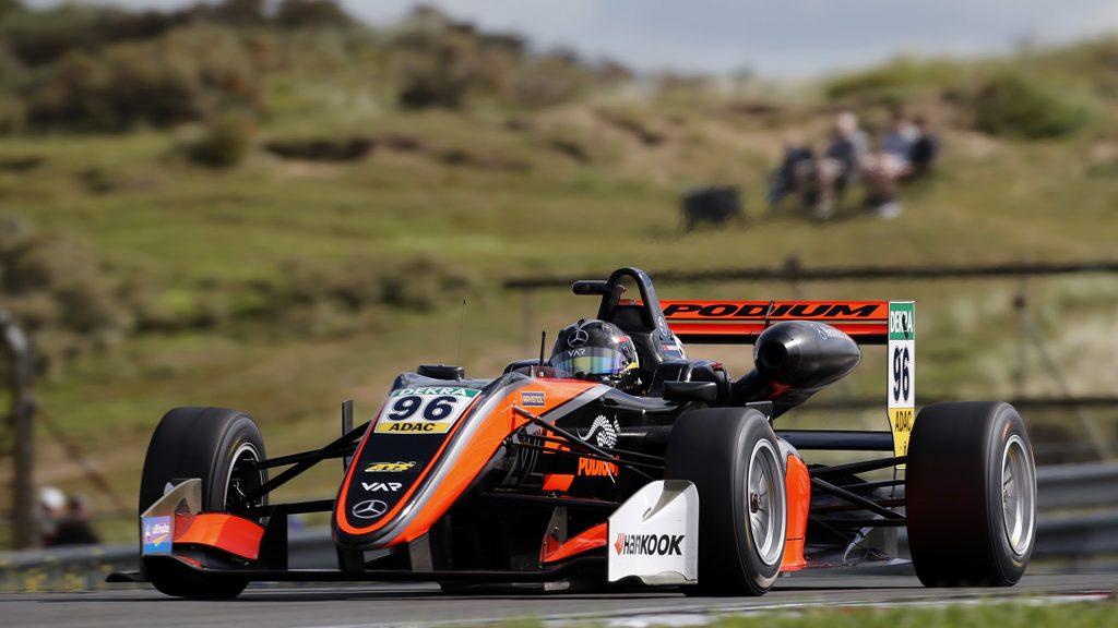 96 Joey Mawson (AUS, Van Amersfoort Racing, Dallara F317 - Mercedes-Benz), FIA Formula 3 European Championship, round 7, race 1, Zandvoort (NED), 18. - 20. August 2017